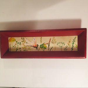 Michel Design Works Shea Dragonfly Wood tray